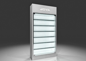 high gloss display unit