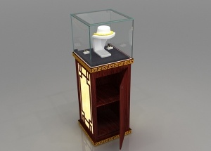 Tower display case jewelry freestanding India style