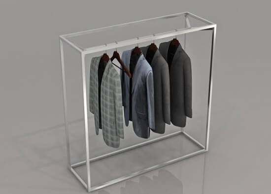 Outstanding Clothes Gondola Stainless Steel Rack For Retail Shop Fitting Pdpeps Interior Chair Design Pdpepsorg
