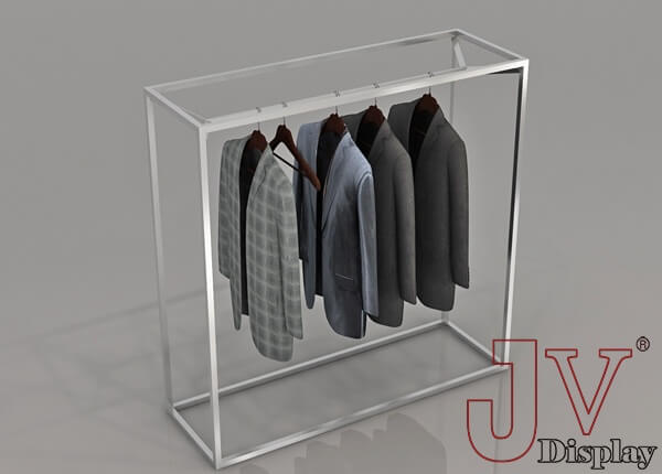 367ceb73b4 clothes gondola stainless steel rack for retail shop fitting for ...