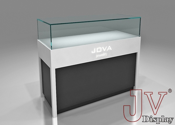 Jewellery Shop Counter Design Retail Glass Display For