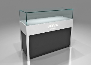 jewellery shop counter design retail glass display