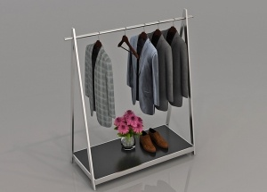 department store clothing racks