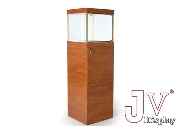 092f2a42950 Square pedestal jewelry case