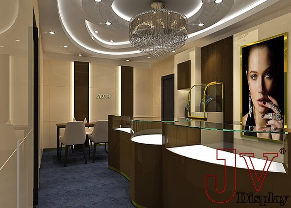 small jewellery shop design