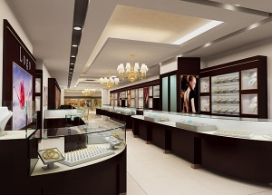 jewellery showroom design