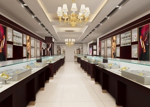 jewellery showroom design ideas retail shop counters