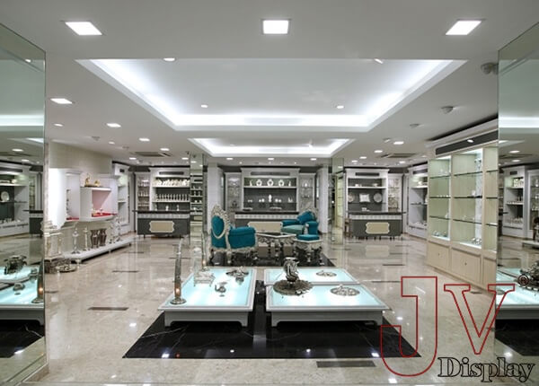 Retail Jewellery Shop Interior Design In India For Sale