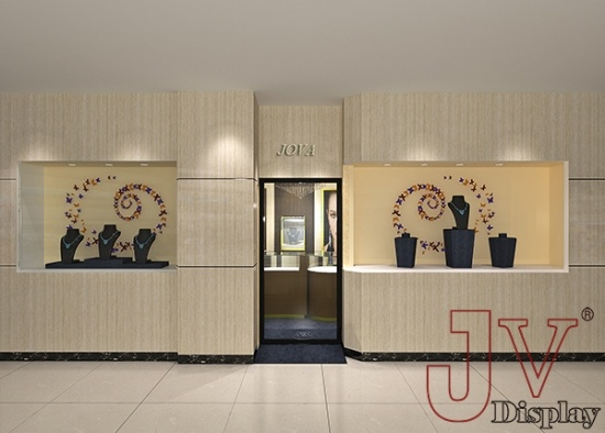 Small Jewellery Shop Design Idears Interior 3d Drawing For