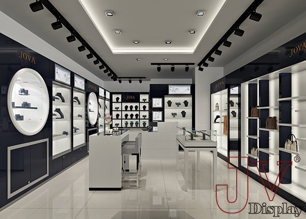 Jewelry store interior design modern retail large for sale,Jewelry ...