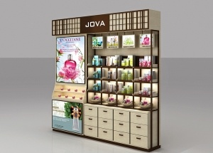 cosmetic display rack