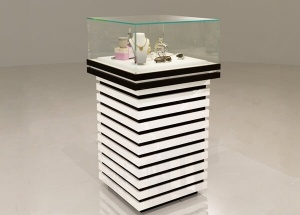 tower pedestal display case