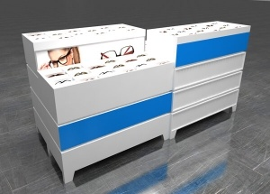 Sunglass display case for shop modern