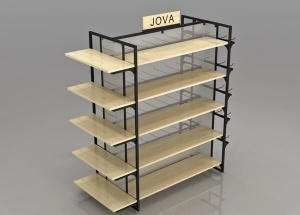 metal gondola shelving