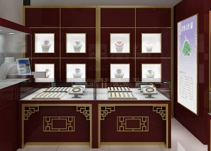 interior design for jewelry shop chinese style