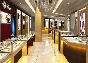 jewellery shop furniture design in india
