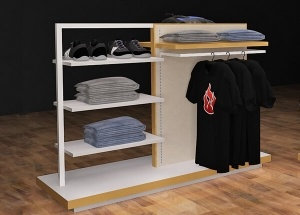 shirt display rack