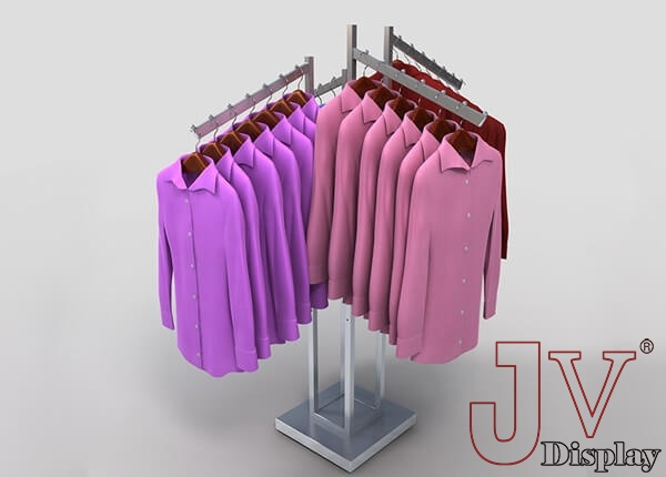 4 way clothing racks