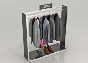 garments shop display