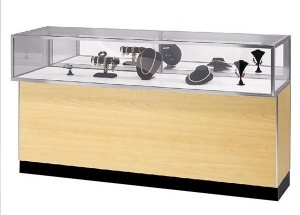 jewellery showroom counter designs