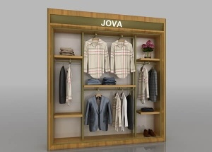 retail clothing wall racks
