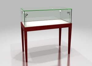 4ft glass jewelry showcase display sets