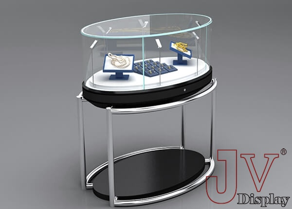 steel furniture for jewellery shop
