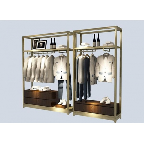 retail clothing display ideas garment store wall units for sale
