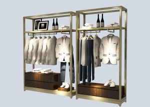 retail clothing display ideas garment store wall units