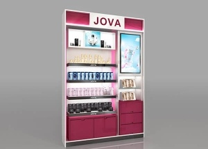 cosmetic shop furniture design for wall displays