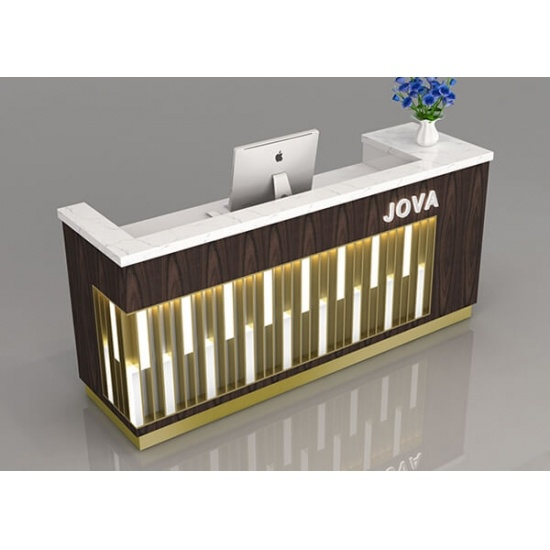 Modern Shop Counter Reception Furniture Design And Custom For Sale