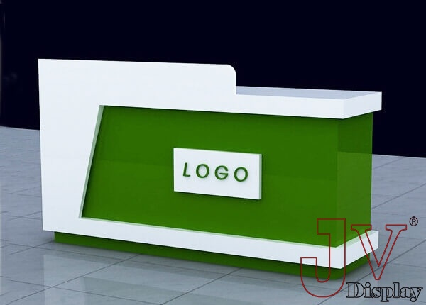 reception counter design