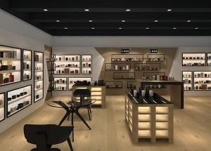 perfume shop design interior decoration and fixtures