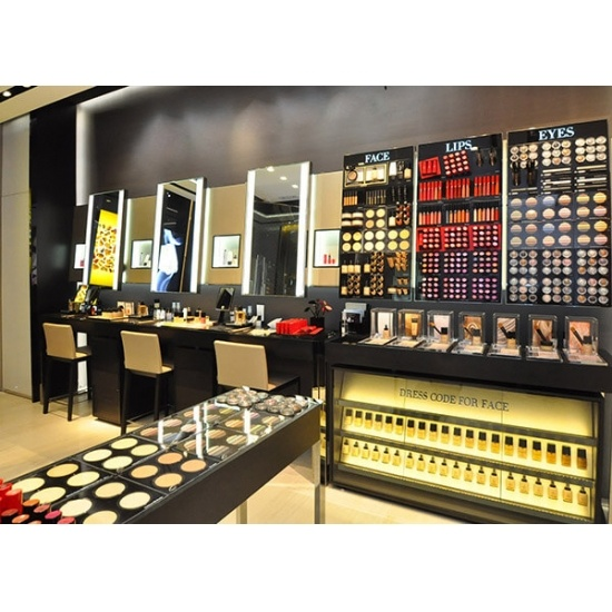 Cosmetic Store Furniture For Makeup Shop Design For Sale