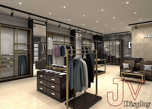menswear shop interior design