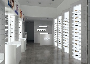optical store design