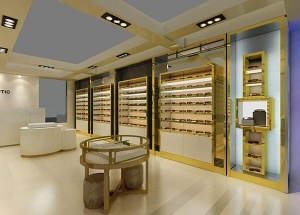 optical shop interior design Brunei