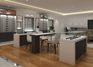 Furniture for optical stores interior design usa