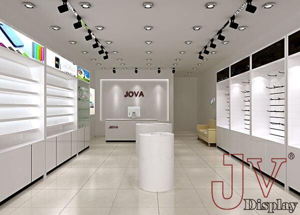 mobile shop design phone display cabinets for salemobile shop