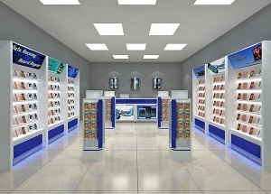 phone shop interior design