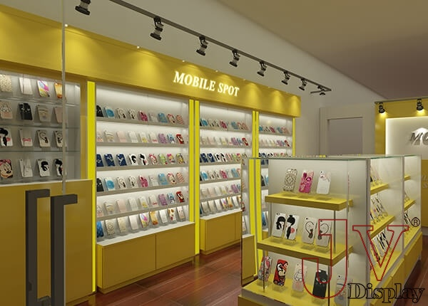 mobile accessories shop design