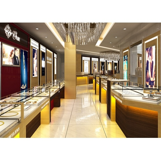 Luxury Jewelry Shop Design Wooden Glass Showcase USA For Saleluxury Classy Jewelry Store Interior Design Plans
