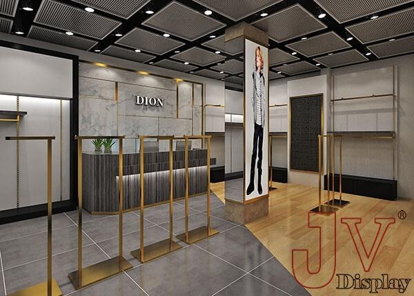 lady garment shop interior design diplay racks UK for sale,lady ...