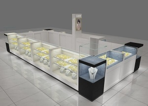 jewelry display kiosk