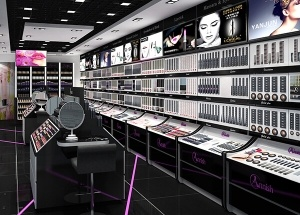 furniture design for cosmetic shop
