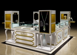 new mall jewelry kiosk store cabinet USA