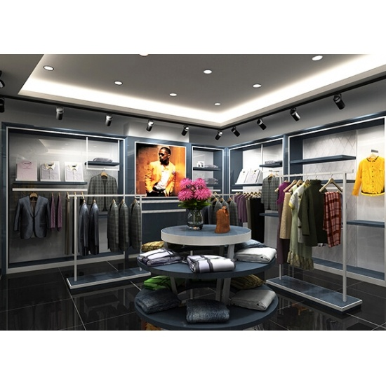 small boutique interior design ideas for clothing display for sale ...