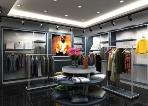 small boutique interior design ideas for clothing display
