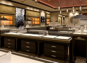 jewellery shop interior design