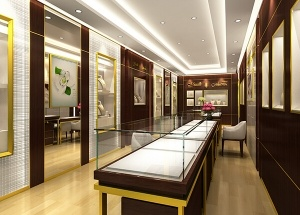 jewelry store fixtures displays